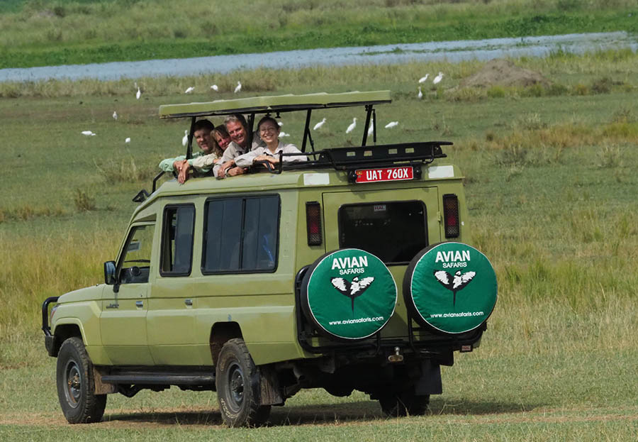 Uganda Birding Safari Vehicle